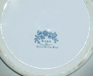 Cuba Dillwyn and Co. company mark [Click to enlarge image]