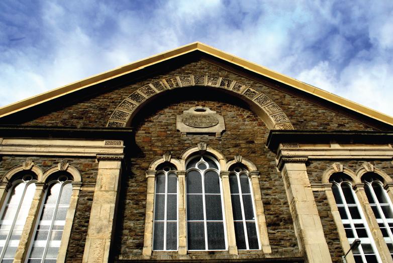 Ebenezer Chapel in Swansea[Click to enlarge image]