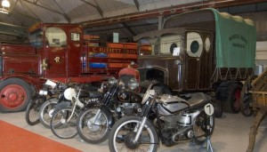 Motorcycles in Landore Collection Centre