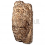 Stone Head of Alina de Mowbray/Pen Carreg Alina de Mowbray