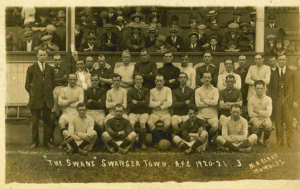 Swansea Town AFC- 1920-21 [Click to enlarge image]