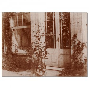 At the Door of the Conservatory
