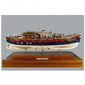 Model of Mumbles Lifeboat - William Gammon