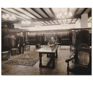 Showroom in the Sidney Heath department store