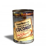 Tin of Shredded Coconut in Syrup