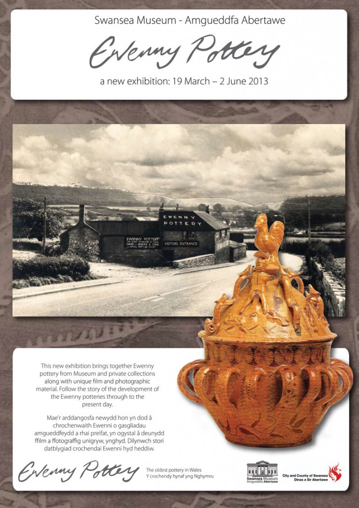 ewenny exhibition poster
