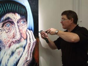 Artist Gary Francis