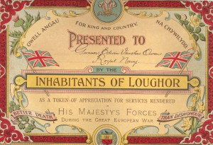 Great War Loughor