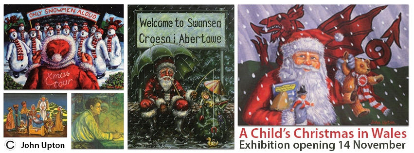 a childs christmas in wales exhibition now open - Christmas In Wales